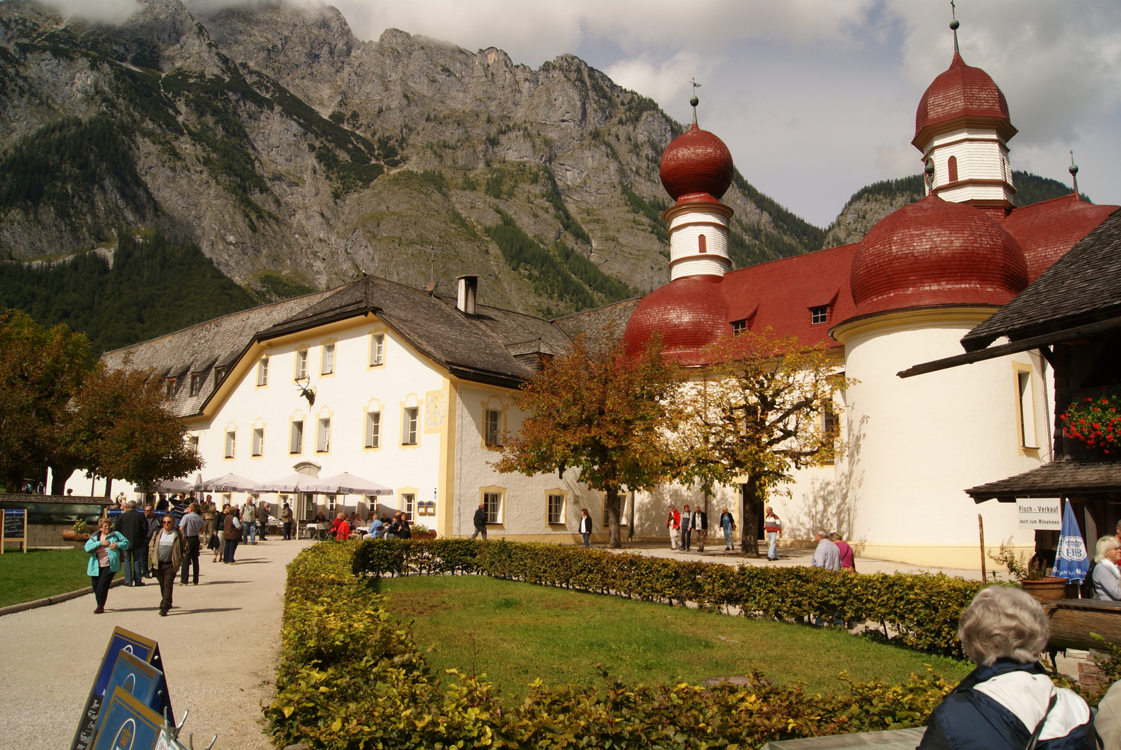 Kirche St. Bartholomä im Königssee