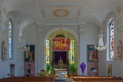 Kirche St. Martin zur Fastenzeit