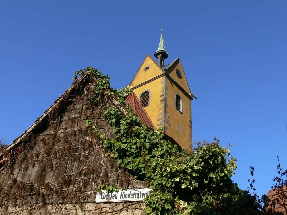 Kirche St.Michael Niederrotweil Vogtsburg Kaiserstuhl bei Freiburg