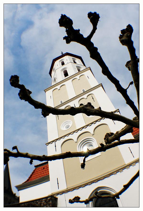 Kirche und Knorke