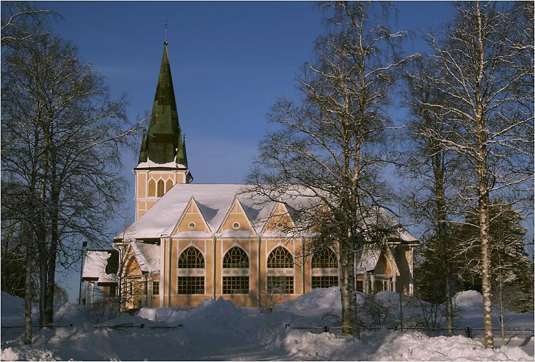 Kirche von Arvidsjaur