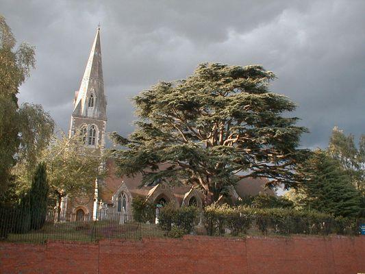 Kirche von Camberley (England)