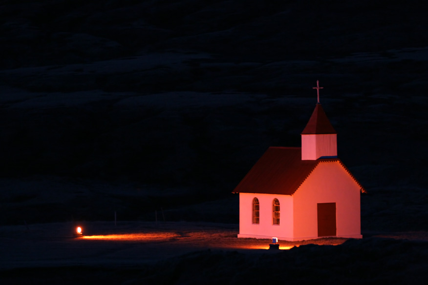 Kirche von Eiriksstaðir (Ostisland)