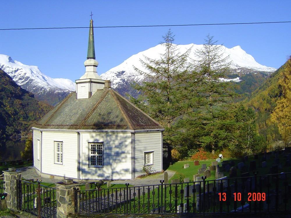Kirche von Geiranger