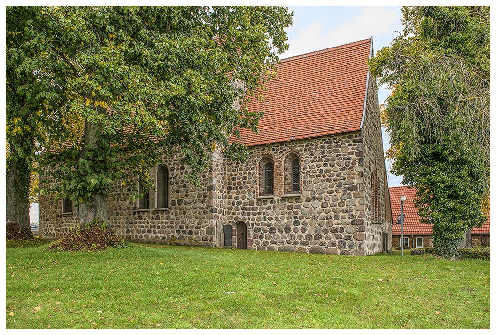 Kirche von Groß Wokern