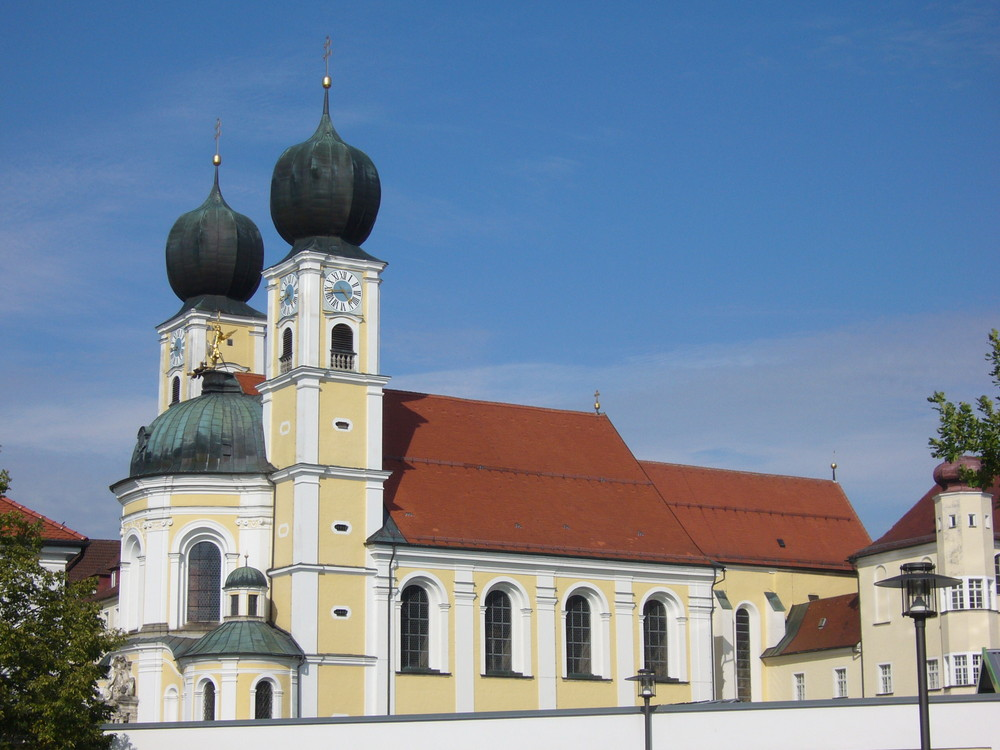 Kirche von Kloster in Metten