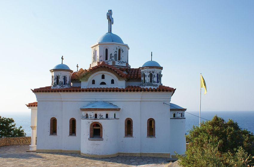 Kirche von Paleo Karlovasi 2