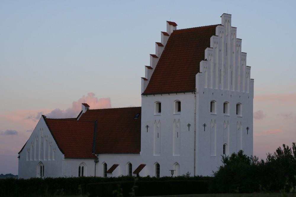 Kirche von Rinkenaes DK