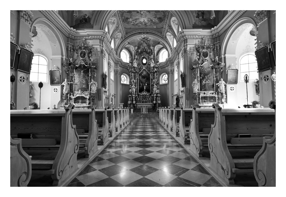 Kirche von Tannheim...