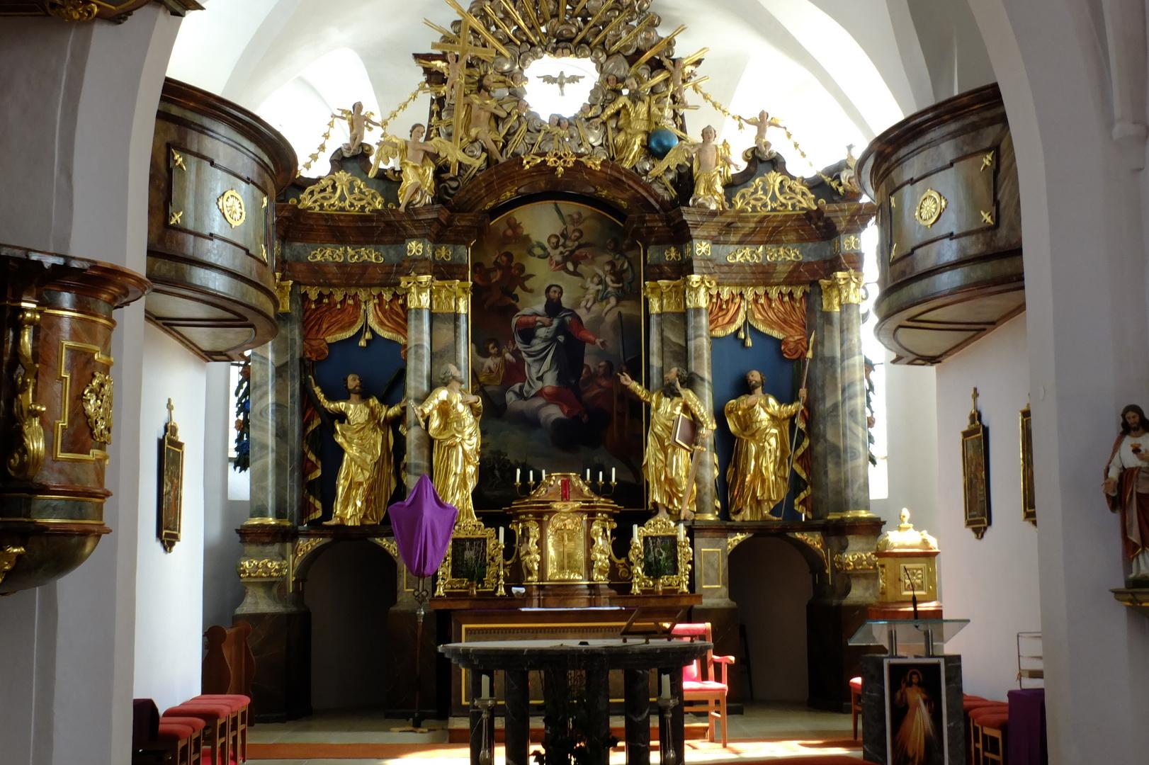 Kirche von Texing in Niederösterreich