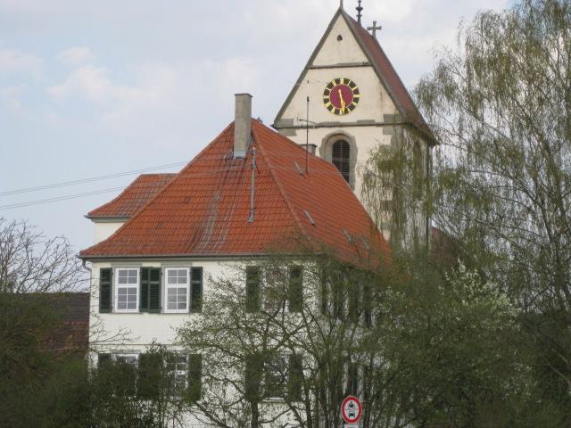Kirche von Tübingen - Weilheim