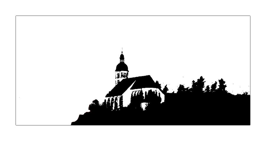 Kirche vorm Abgrund