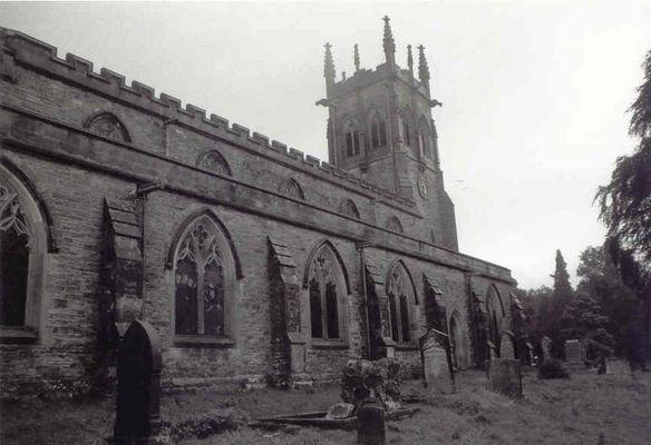 Kirche Yorkshire Dales/England