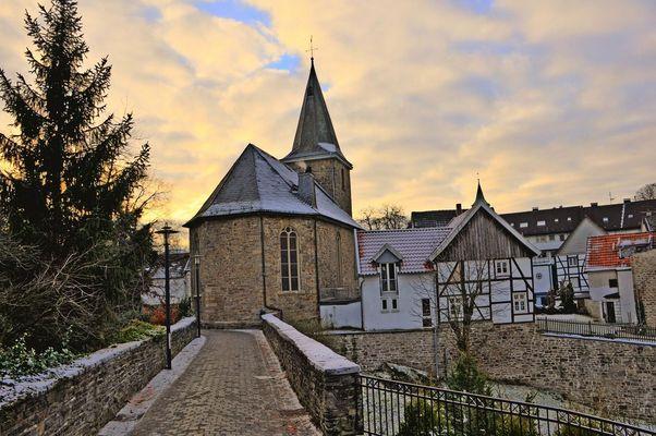 Kirche zu Burg Blankenstein in Hattingen