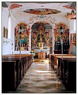 Kirche zu Flotzheim, Barocke Pracht im Kleinformat