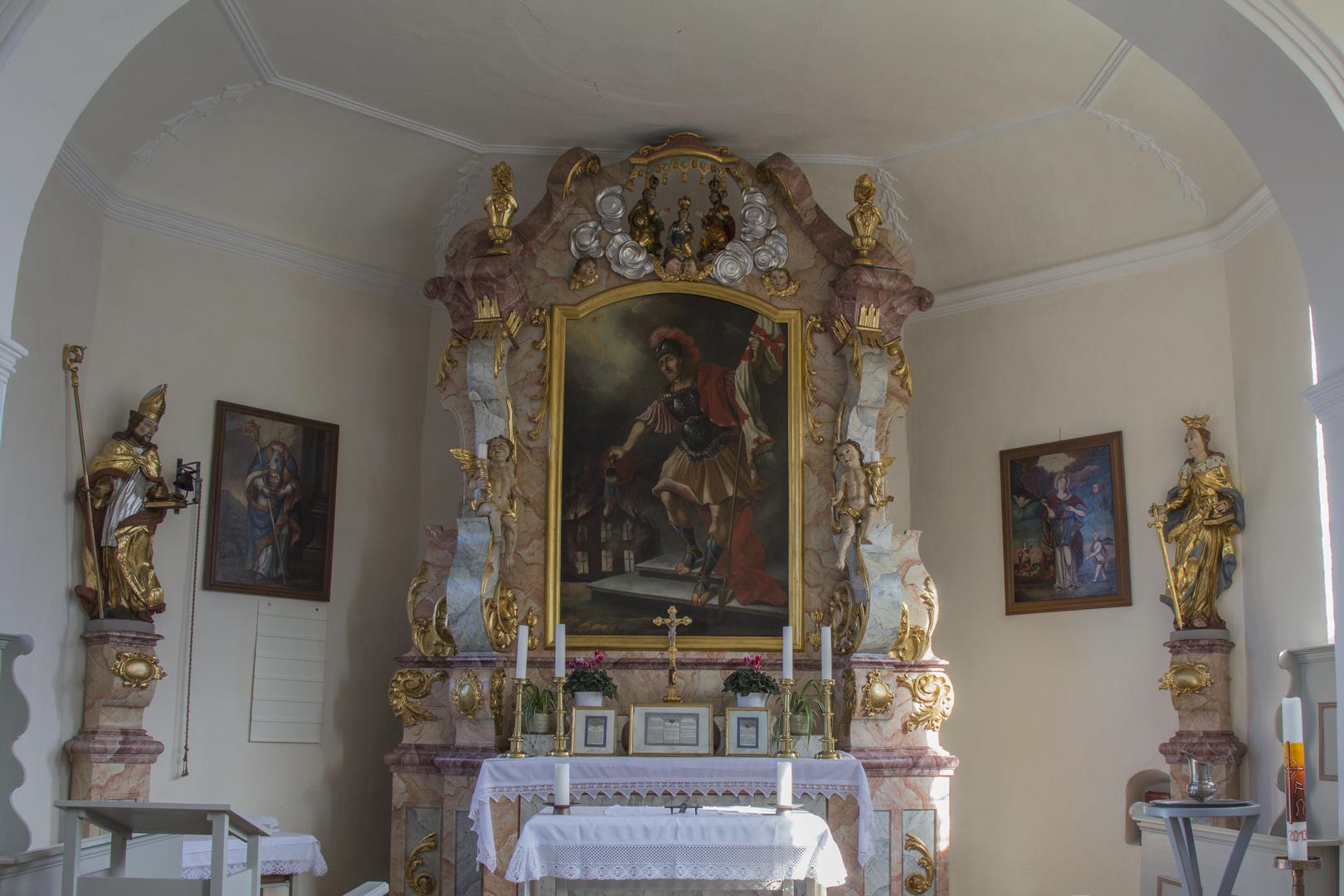 Kirche zum Andenken an die Gefallenen - Innenraum