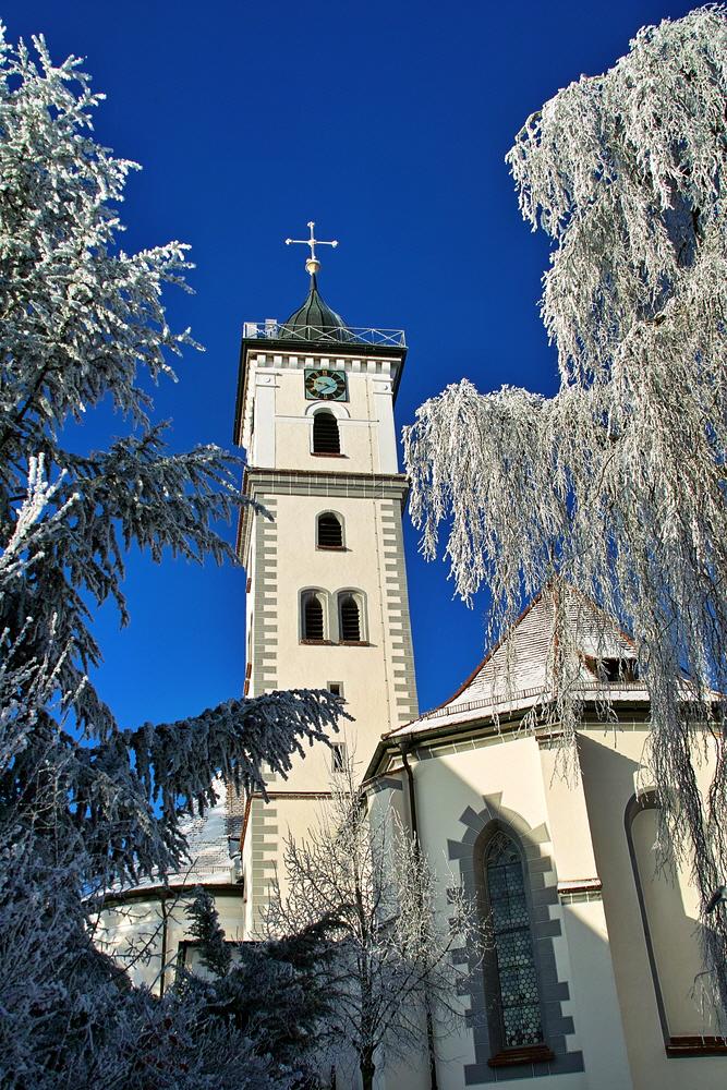 Kircheansicht Winter