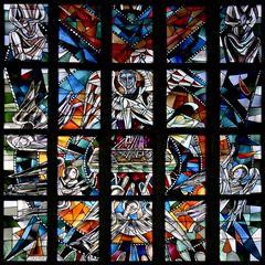 Kirchen-Fenster ( Ausschnitt )