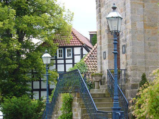 Kirchen Portal in Tecklenburg