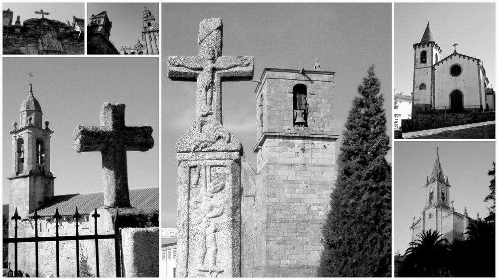 Kirchen und Kreuze...