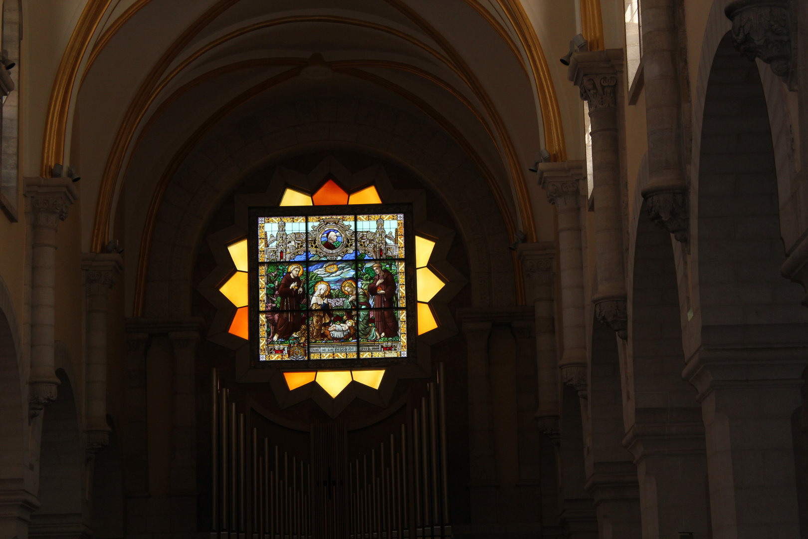 Kirchenbild in der Geburtskirche