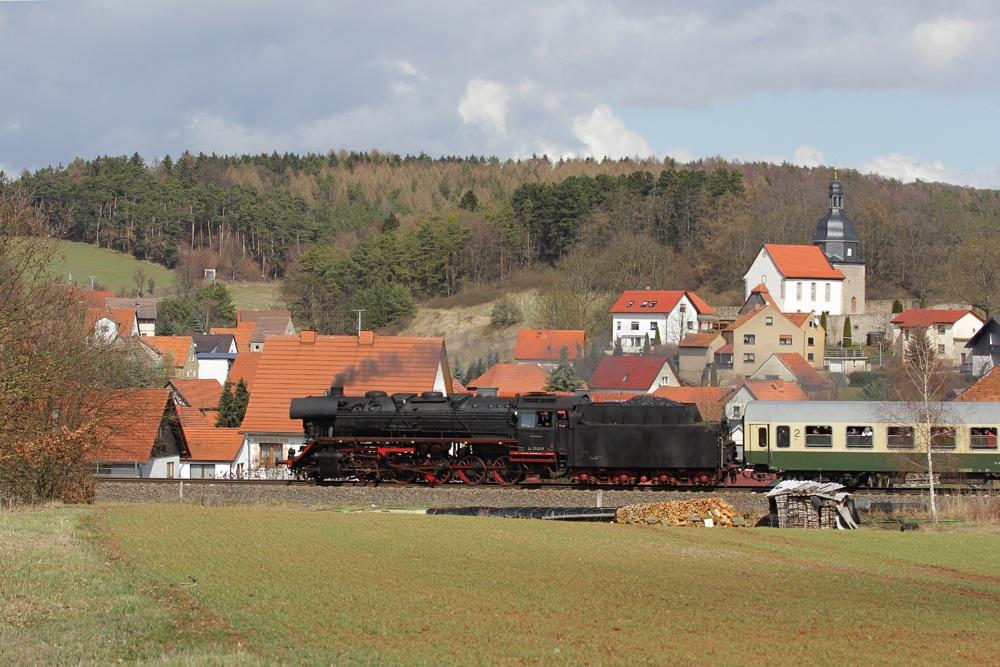 Kirchenblick von Ettenhausen