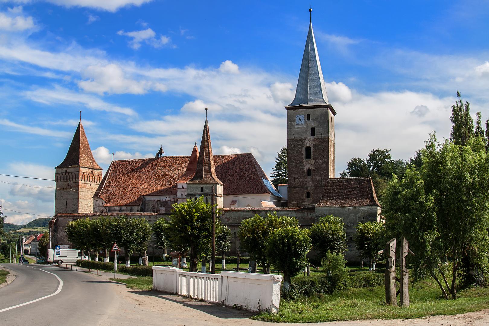 Kirchenburg von Meschen