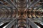 Kirchendecke Saint Eustache in Paris