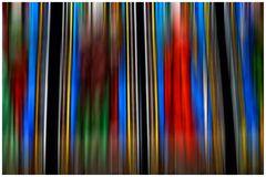 Kirchenfenster abstrakt
