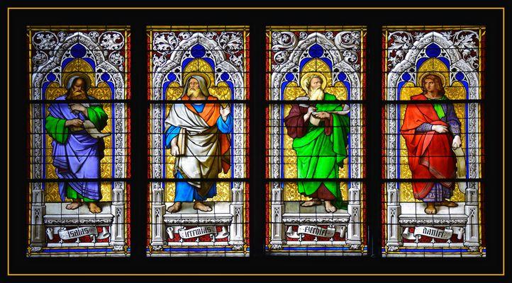 Kirchenfenster des Kölner Doms