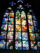 Kirchenfenster im St.-Veits-Dom, Hradschin Prag