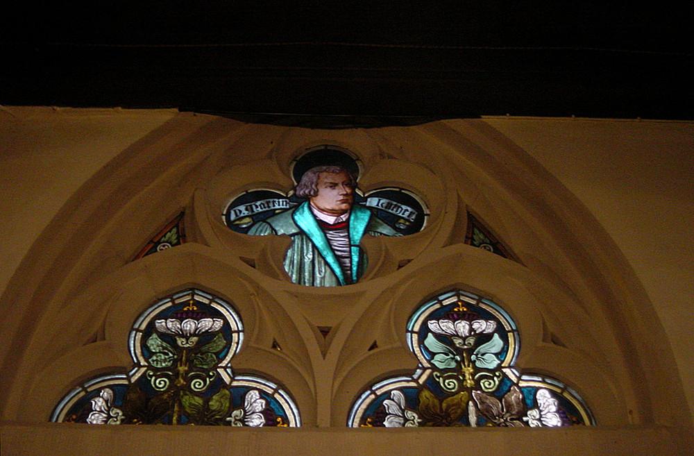 Kirchenfenster in Camburg