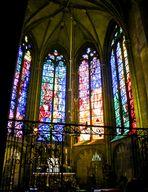 Kirchenfenster in Kathedrale von Metzt