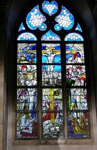 Kirchenfenster in St.Maria im Kapitol, Köln