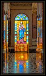 Kirchenfenster irgendwo in Sizilien