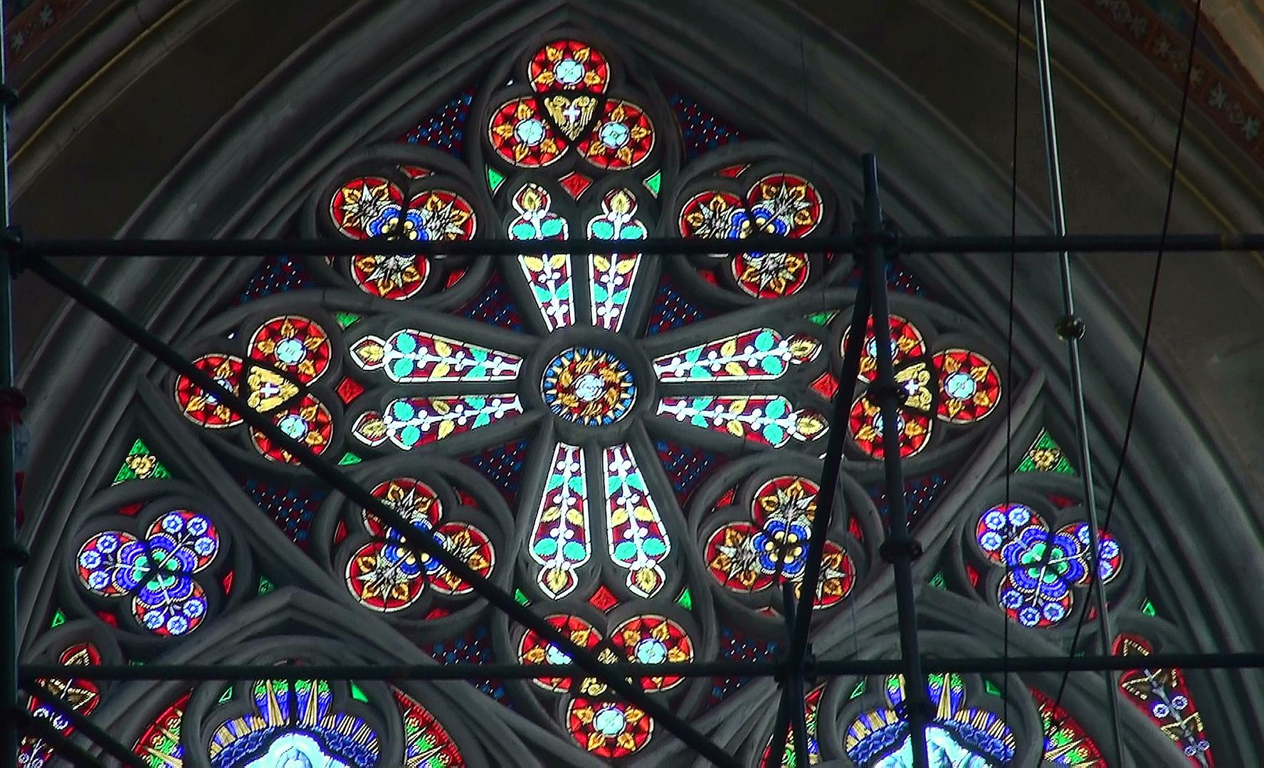 Kirchenfenster Wien