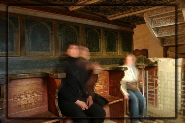 Kirchengang innerhalb der Matrix