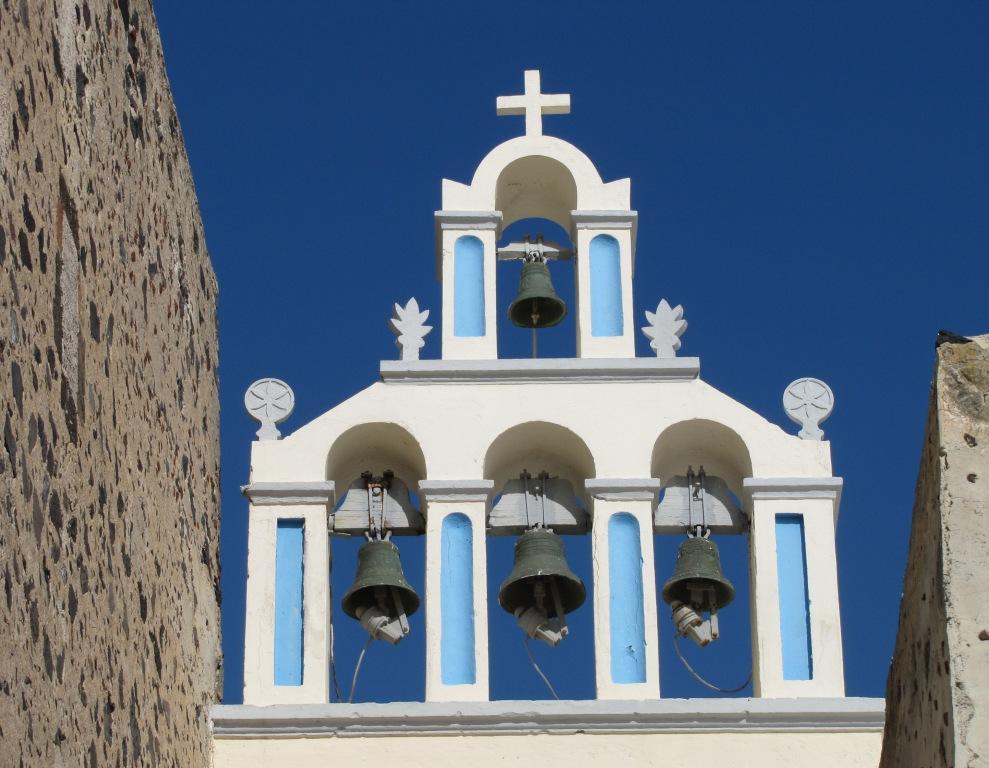 Kirchenglocken auf Santorin