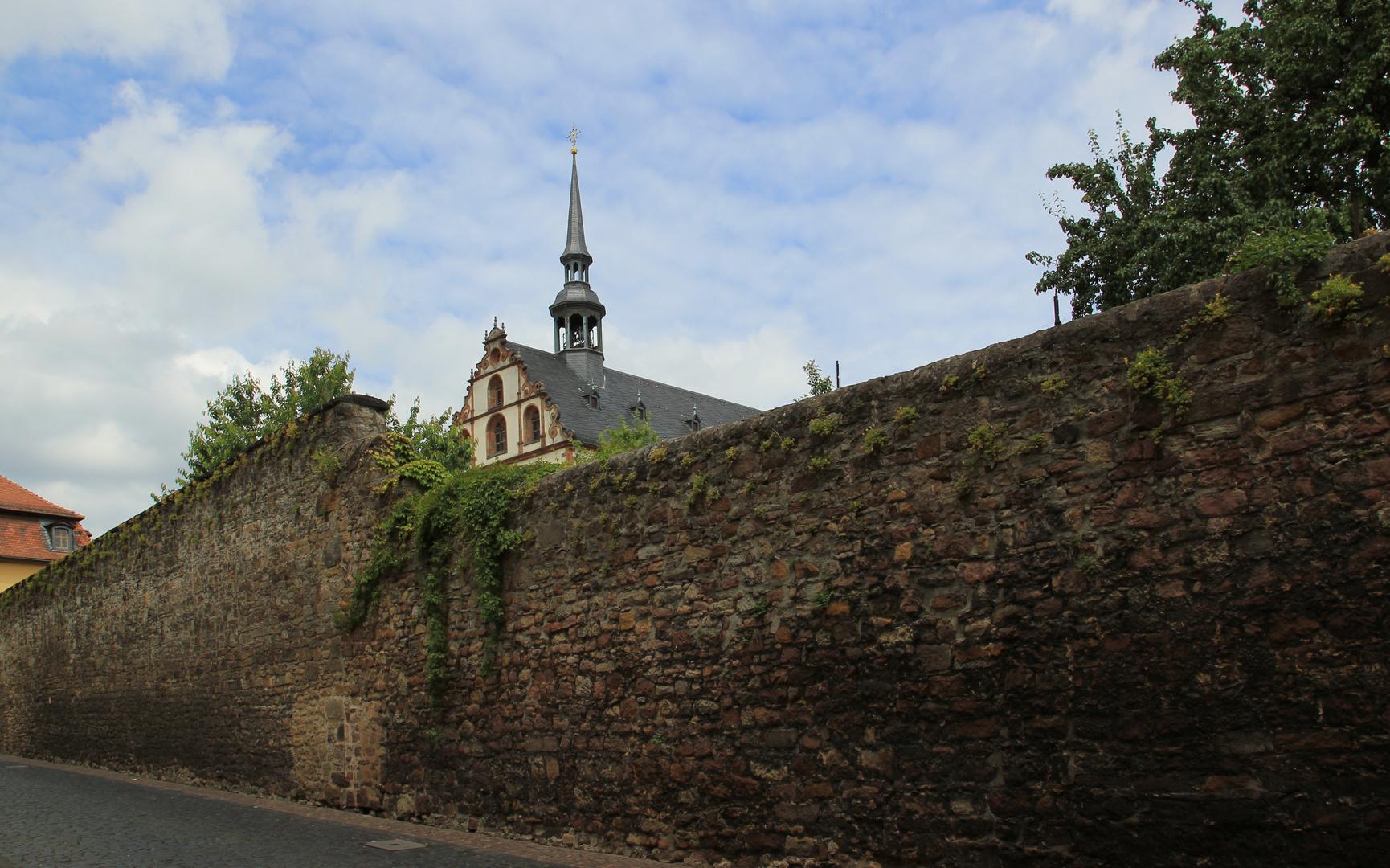 Kirchenmauer