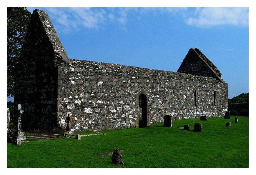 Kirchenruine auf Islay
