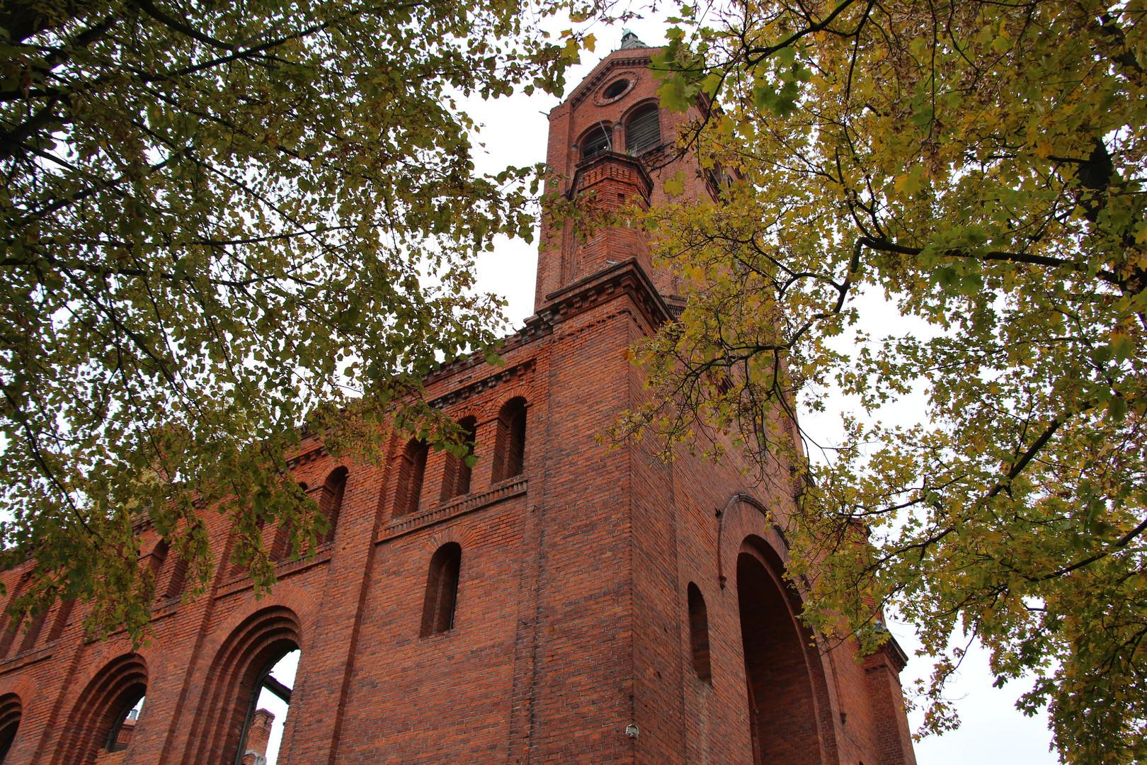 Kirchenruine in Osjorsk ehem Angerapp