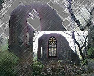 Kirchenruine mal anders