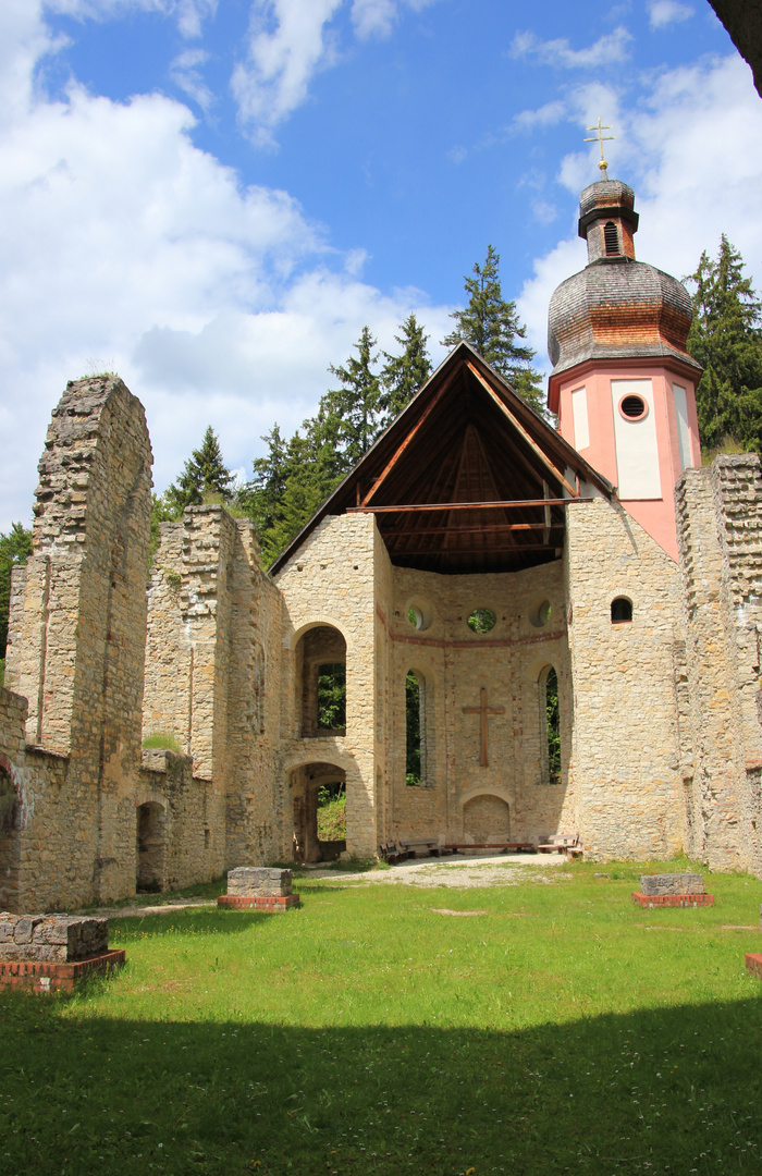 Kirchenruine Maria Hilf