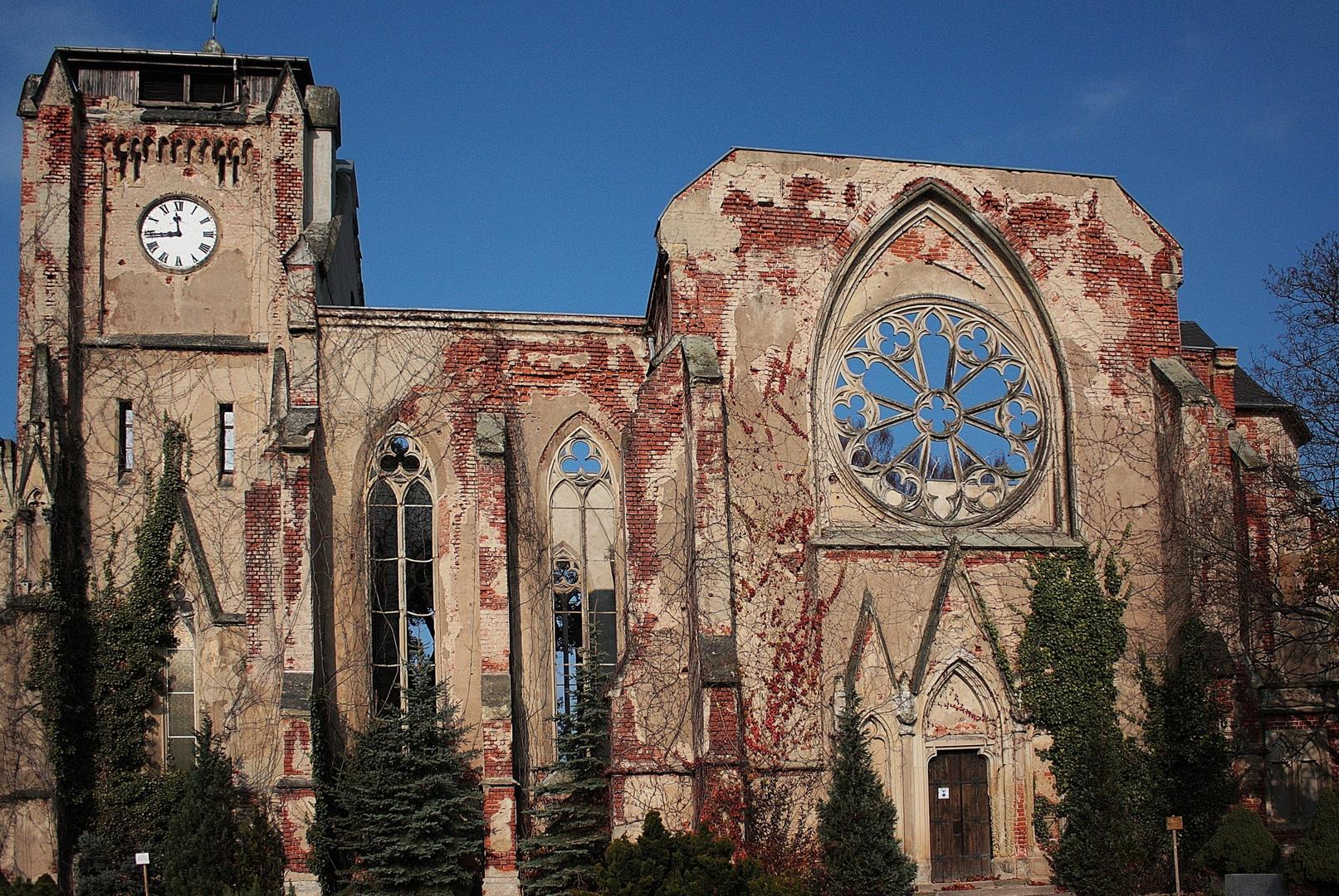 Kirchenruine Wachau bei Leipzig