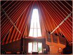 Kirchenschiff der Bruder Klaus-Kirche in Berlin (Britz) 2