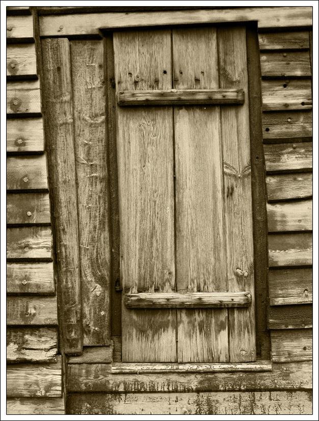 Kirchentüre aus Holz