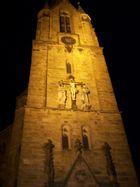 Kirchenturm Harsewinkel bei Nacht