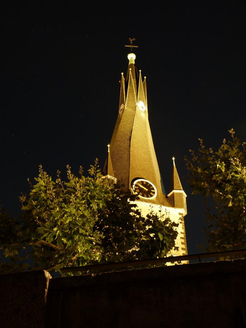 Kirchenturm in D,dorf