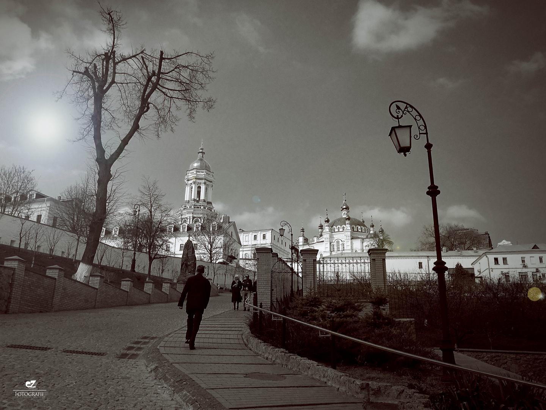 Kirchenviertel in kiew