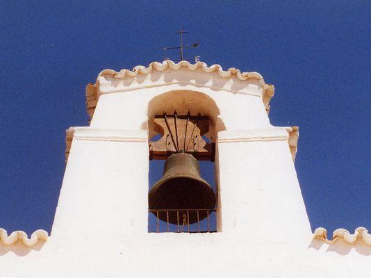 Kircheturm auf Ibiza